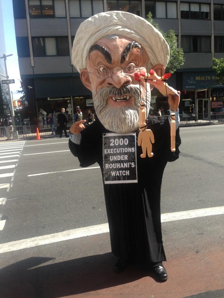 Rouhani at NY